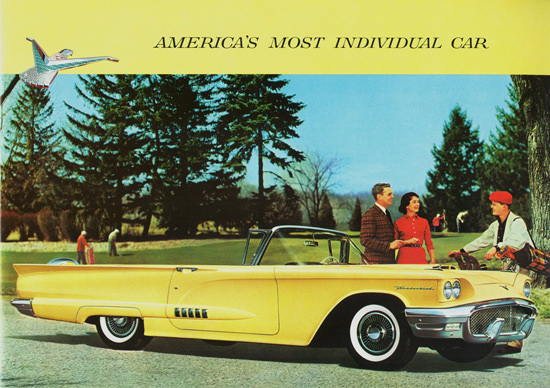 Ford Thunderbird Convertible 1958 | Vintage Cars 1891-1970