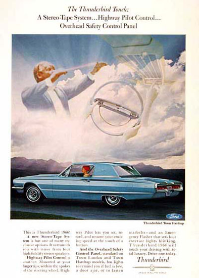 Ford Thunderbird Hardtop 1966 Heaven Touch | Vintage Cars 1891-1970