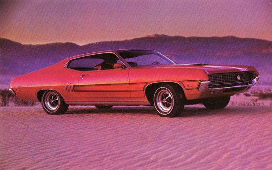 Ford Torino GT Sportsroof 1970 Desert | Vintage Cars 1891-1970