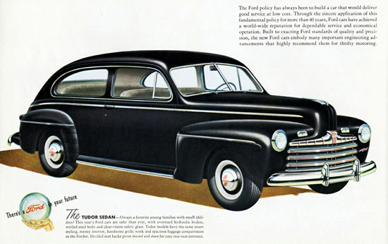 Ford Tudor Sedan 1946 | Vintage Cars 1891-1970