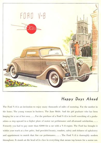 Ford V-8  1935 | Vintage Cars 1891-1970