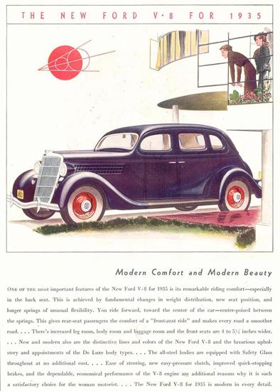 Ford V-8 For 1935 | Vintage Cars 1891-1970
