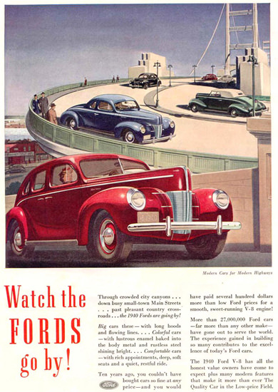 Ford V-8 Models 1940 | Vintage Cars 1891-1970