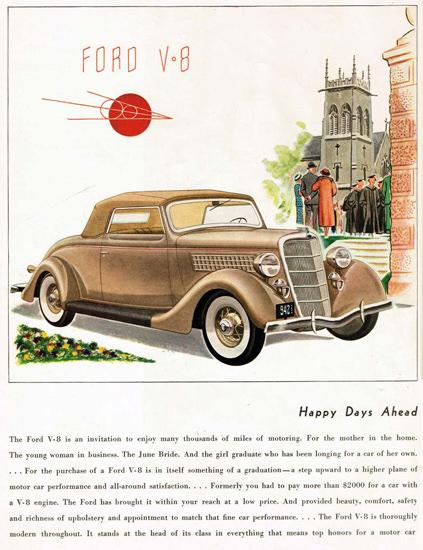 Ford V8 Model 1935 | Vintage Cars 1891-1970