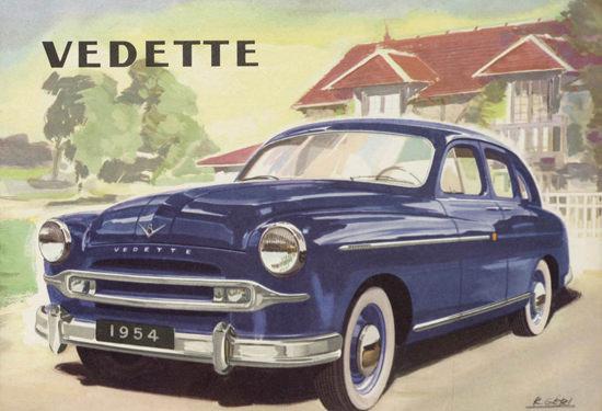 Ford Vedette  1954 | Vintage Cars 1891-1970