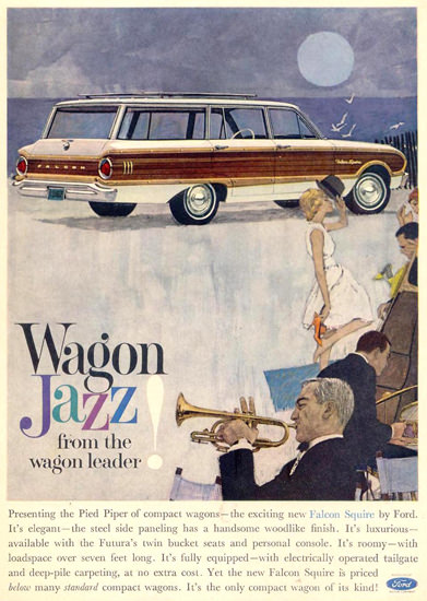 Ford Wagon Jazz 1962 | Vintage Cars 1891-1970