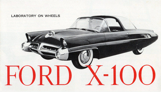 Ford X 100 Laboratory On Weels 1953 | Vintage Cars 1891-1970