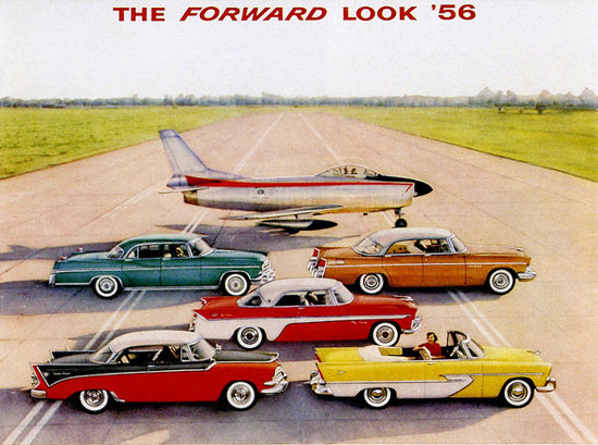 Forward Automobile And Airplane 1956 | Vintage Cars 1891-1970