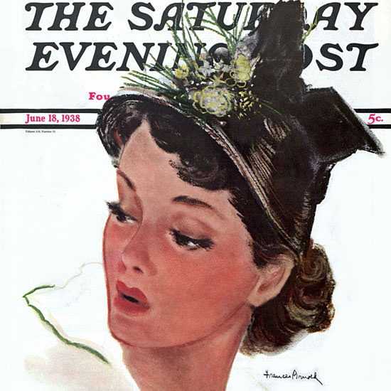 Frances Arnold Saturday Evening Post 1938_06_18 Copyright crop | Best of 1930s Ad and Cover Art