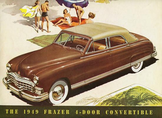 Frazer 4 Door Convertible 1949 | Vintage Cars 1891-1970