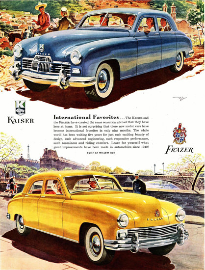 Frazer And Kaiser 1947 | Vintage Cars 1891-1970