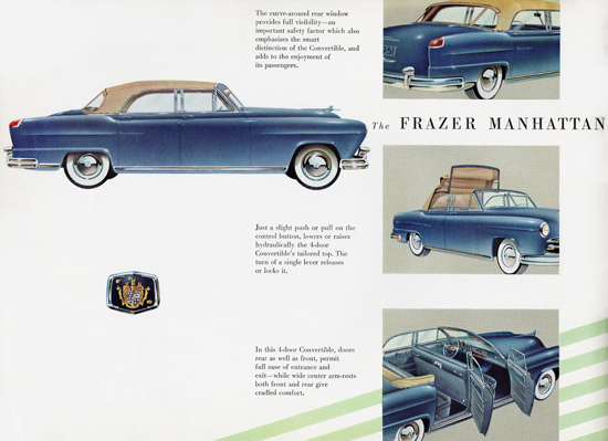 Frazer Manhattan Convertible 1951 | Vintage Cars 1891-1970