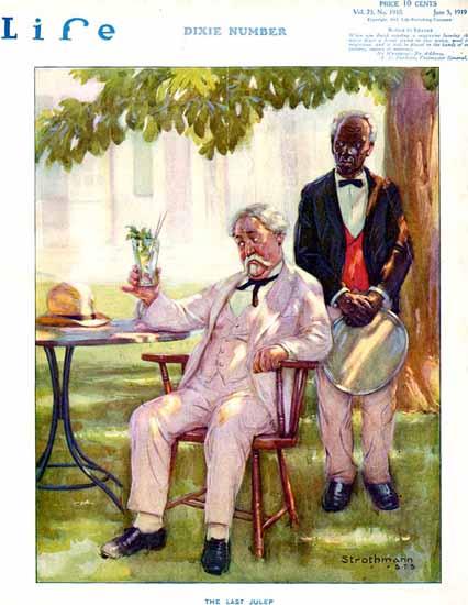 Frederick Strothmann Life Humor Magazine 1919-06-05 Copyright | Life Magazine Graphic Art Covers 1891-1936