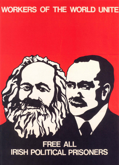 Free All Irish Political Prisoners United Kingdom | Vintage War Propaganda Posters 1891-1970