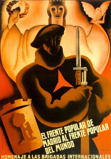 Frente Popular Madrid Frente Popular Del Mundo | Vintage War Propaganda Posters 1891-1970