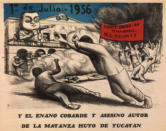 Frente Unico De Trabajadores Del Volante 1936 | Vintage War Propaganda Posters 1891-1970