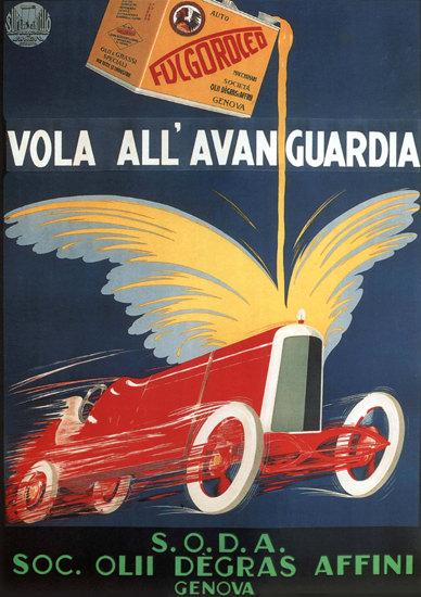 Fulgoroled Vola All Avanguardia Genova Italia   Vintage Ad and Cover Art 1891-1970