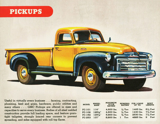 GMC Pickup 1947 | Vintage Cars 1891-1970