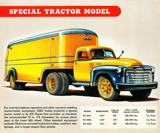 GMC Special Tractor Truck 1947 | Vintage Cars 1891-1970