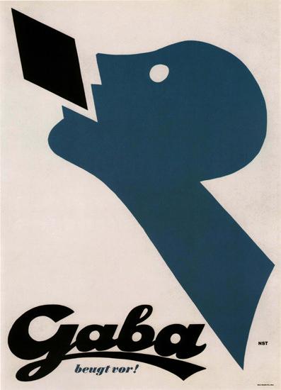 Gaba Beugt Vor Switzerland Schweiz Suisse | Vintage Ad and Cover Art 1891-1970
