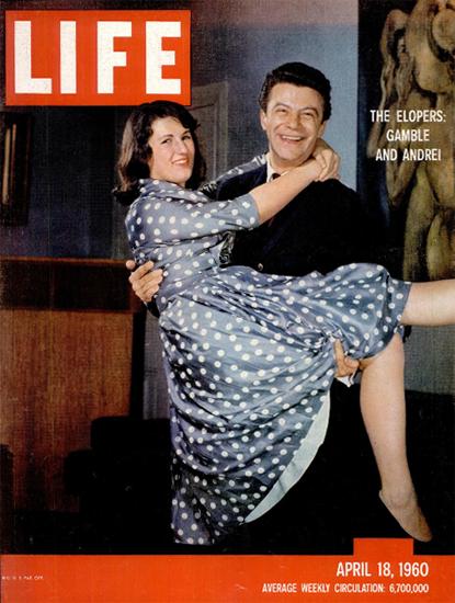 Gamble Benedict Andrei Porumbeanu 18 Apr 1960 CopyR Life Magazine   Life Magazine Color Photo Covers 1937-1970