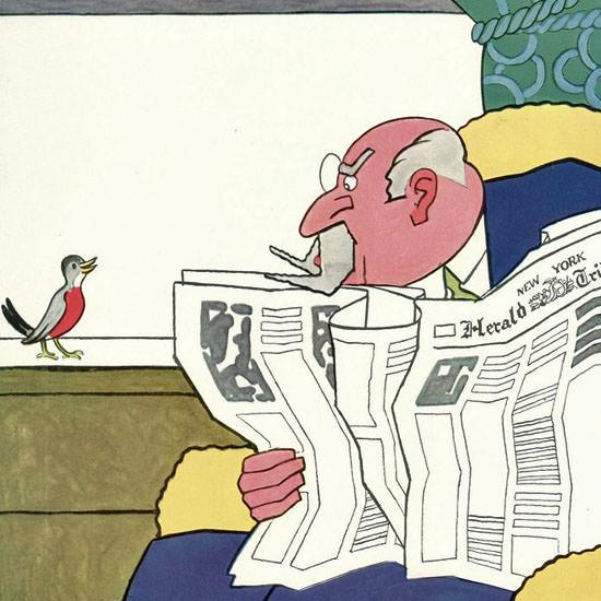 Gardner Rea The New Yorker 1930_03_22 Copyright crop | Best of Vintage Cover Art 1900-1970