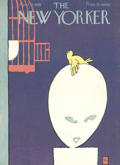 Gardner Rea The New Yorker 1930_04_19 Copyright | The New Yorker Graphic Art Covers 1925-1945