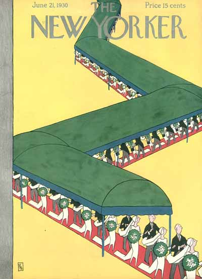 Gardner Rea The New Yorker 1930_06_21 Copyright | The New Yorker Graphic Art Covers 1925-1945