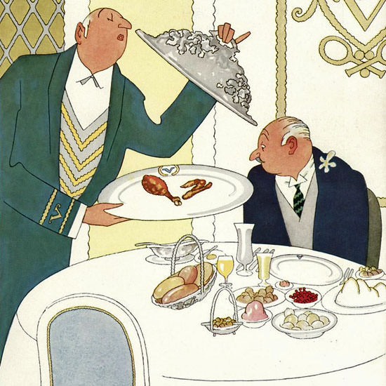 Gardner Rea The New Yorker 1933_11_25 Copyright crop | Best of Vintage Cover Art 1900-1970