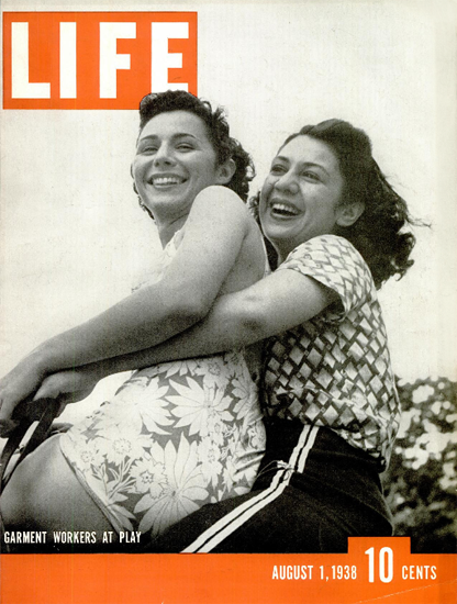 Garment Workers at Play 1 Aug 1938 Copyright Life Magazine | Life Magazine BW Photo Covers 1936-1970