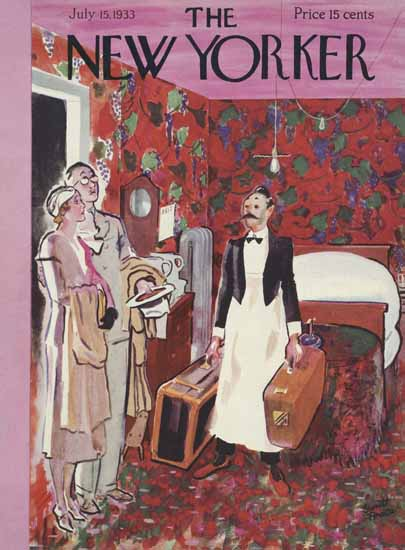 Garrett Price The New Yorker 1933_07_15 Copyright | The New Yorker Graphic Art Covers 1925-1945