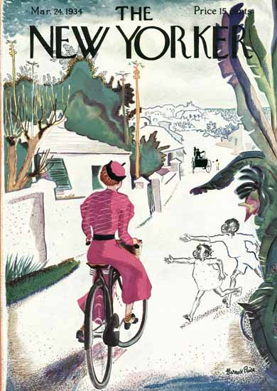 Garrett Price The New Yorker 1934_03_24 Copyright | The New Yorker Graphic Art Covers 1925-1945