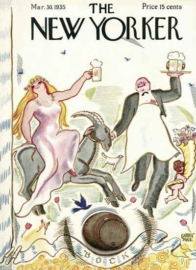 Garrett Price The New Yorker 1935_03_30 Copyright   The New Yorker Graphic Art Covers 1925-1945