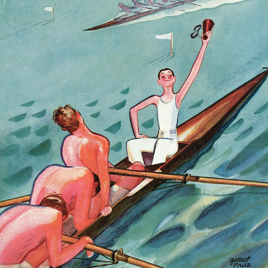 Garrett Price The New Yorker 1935_06_15 Copyright crop | Best of 1930s Ad and Cover Art