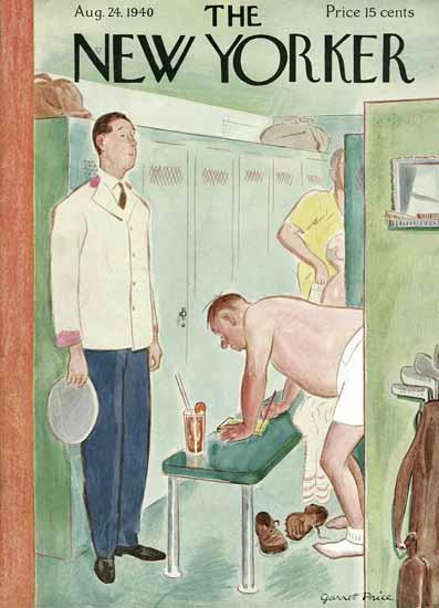 Garrett Price The New Yorker 1940_08_24 Copyright | The New Yorker Graphic Art Covers 1925-1945