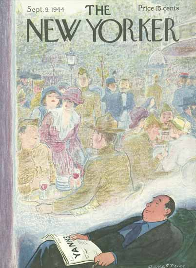 Garrett Price The New Yorker 1944_09_09 Copyright | The New Yorker Graphic Art Covers 1925-1945
