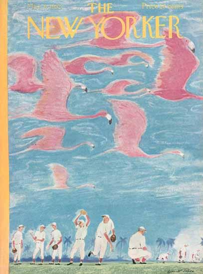 Garrett Price The New Yorker 1952_03_08 Copyright | The New Yorker Graphic Art Covers 1946-1970