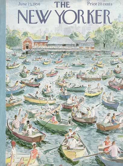 Garrett Price The New Yorker 1956_06_23 Copyright   The New Yorker Graphic Art Covers 1946-1970