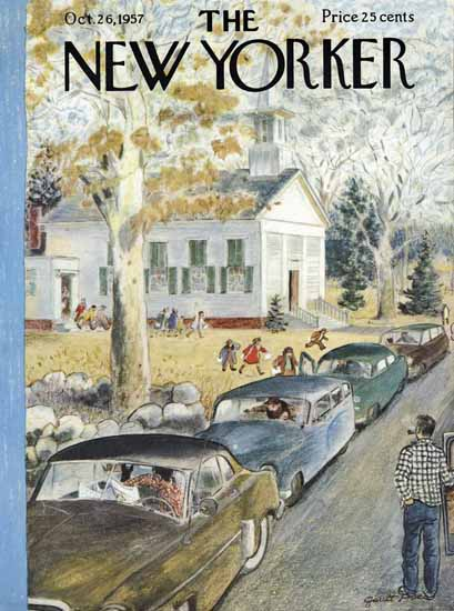 Garrett Price The New Yorker 1957_10_26 Copyright | The New Yorker Graphic Art Covers 1946-1970