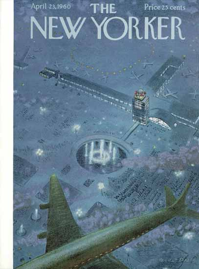 Garrett Price The New Yorker 1960_04_23 Copyright | The New Yorker Graphic Art Covers 1946-1970