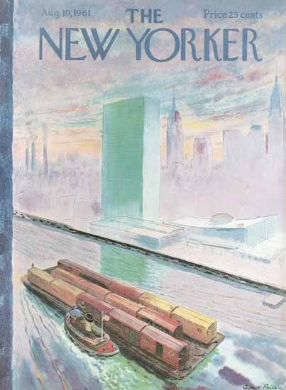 Garrett Price The New Yorker 1961_08_19 Copyright | The New Yorker Graphic Art Covers 1946-1970