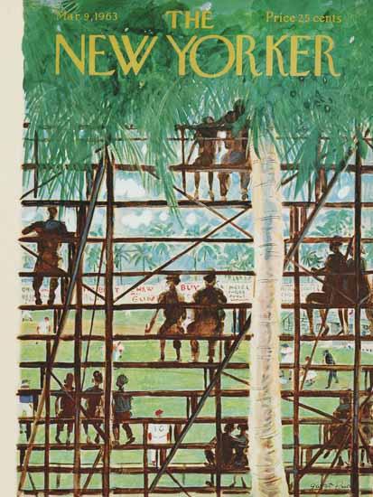 Garrett Price The New Yorker 1963_03_09 Copyright | The New Yorker Graphic Art Covers 1946-1970