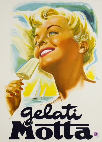 Gelati Motta 1960 | Sex Appeal Vintage Ads and Covers 1891-1970