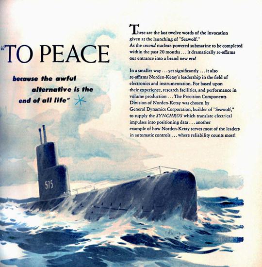 General Dynamics Alternative End Of All Life 1955 | Vintage War Propaganda Posters 1891-1970
