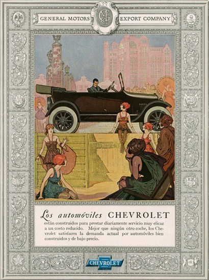 General Motors Chevrolet Automoviles Gold Age | Vintage Cars 1891-1970