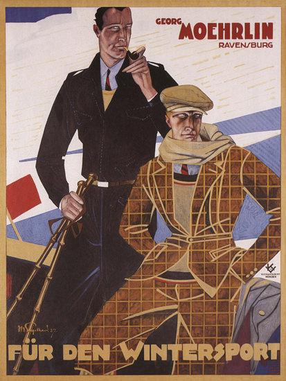 Georg Moehrlin Ravensburg Wintersport | Sex Appeal Vintage Ads and Covers 1891-1970