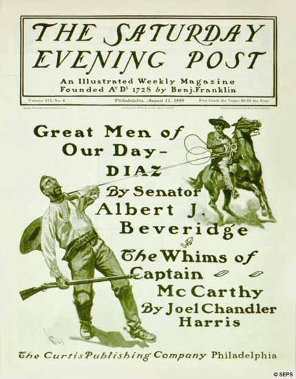 George Gibbs Artist Saturday Evening Post 1900_08_11   The Saturday Evening Post Graphic Art Covers 1892-1930