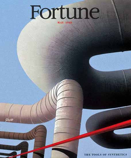 George Giusti Fortune Magazine May 1948 Copyright | Fortune Magazine Graphic Art Covers 1930-1959
