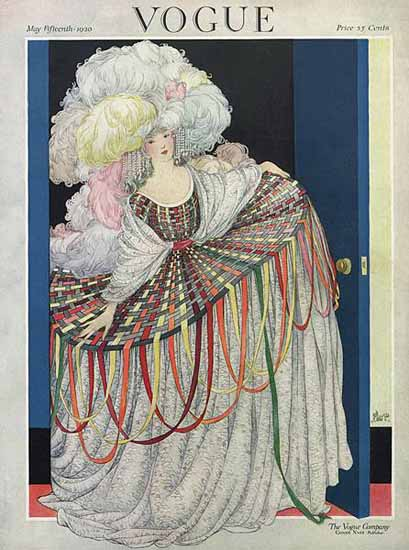 George Wolfe Plank Vogue Cover 1920-05-15 Copyright | Vogue Magazine Graphic Art Covers 1902-1958