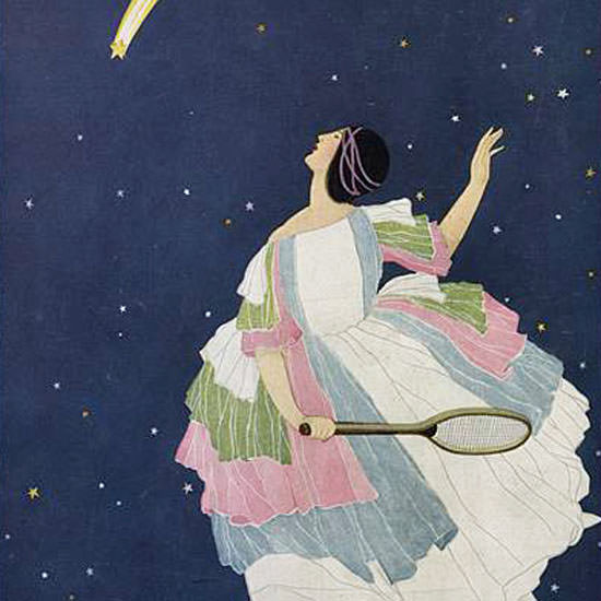 George Wolfe Plank Vogue Cover 1921-10-15 Copyright crop | Best of 1920s Ad and Cover Art